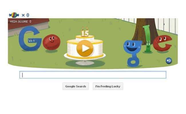 Google Doodle Piñata Game Marks Search Engine S 15th