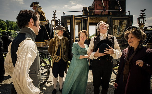 Death Comes To Pemberley Behind The Scenes Telegraph