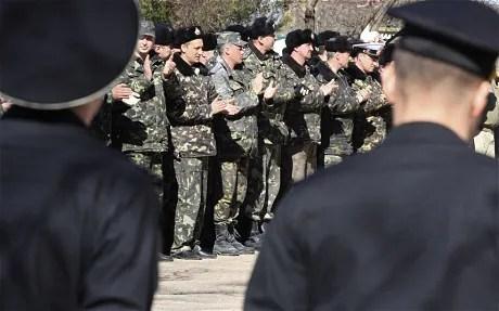 defiant ukrainian soldiers sing