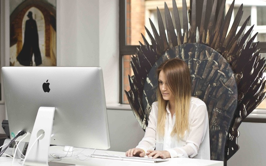 Competition Win A Game Of Thrones Throne Telegraph