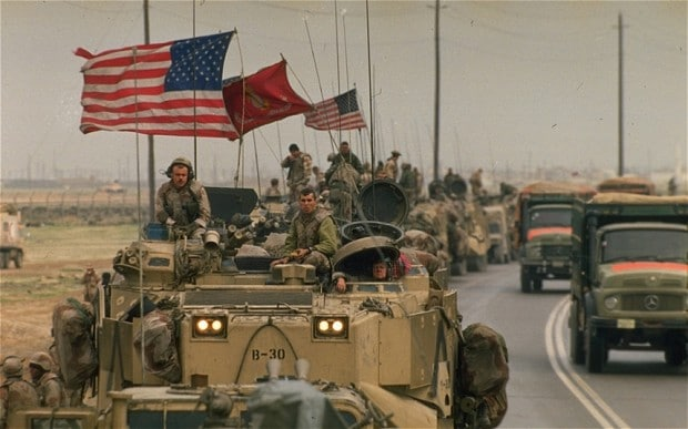 The Gulf War marked the pinnacle of American military supremacy