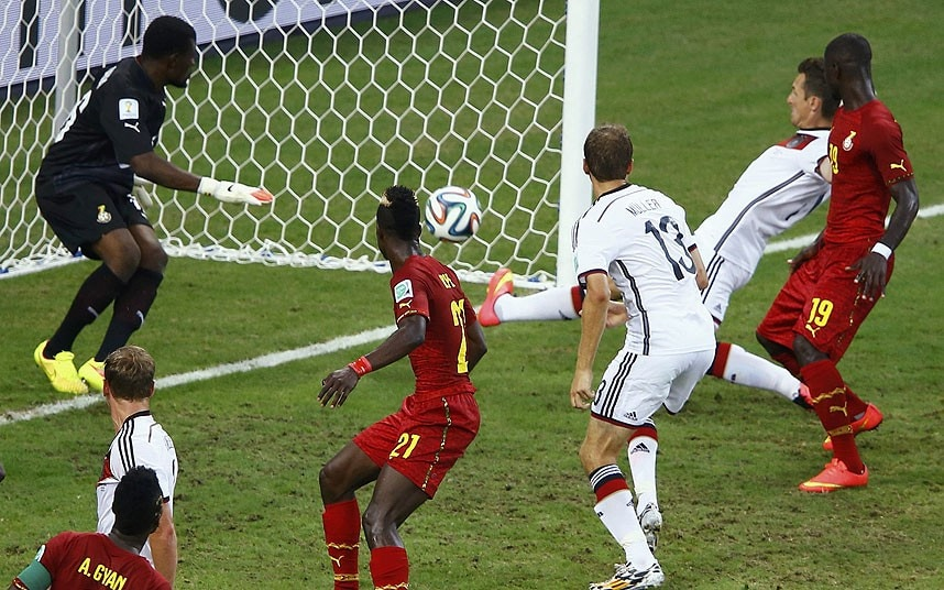 Germany Vs Ghana World Cup 2014 Match Report Telegraph