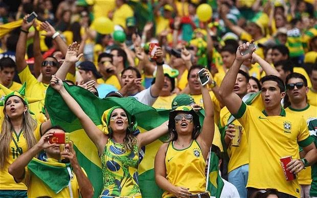Kết quả hình ảnh cho brazil fans
