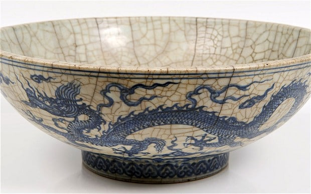 chinese bowl that cat