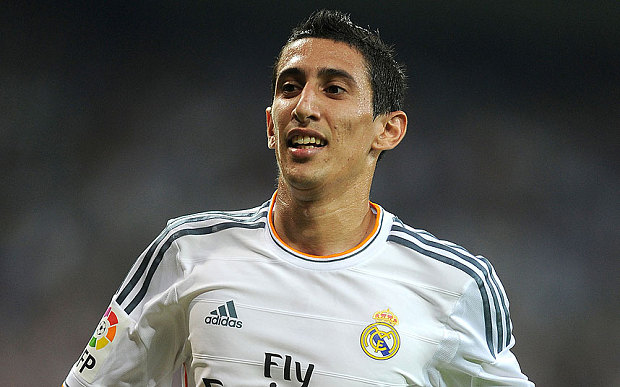 angel di maria s house targeted by burglars after he plays in manchester united game