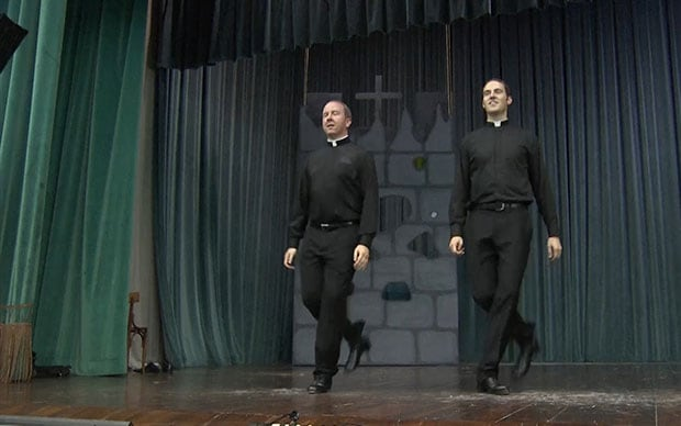 Video Priests surprise danceoff is a YouTube sensation