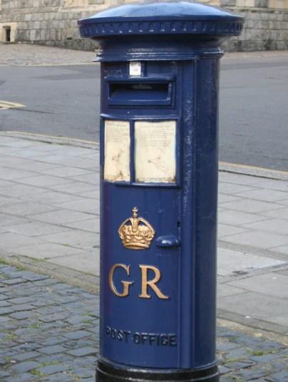 historic british post boxes