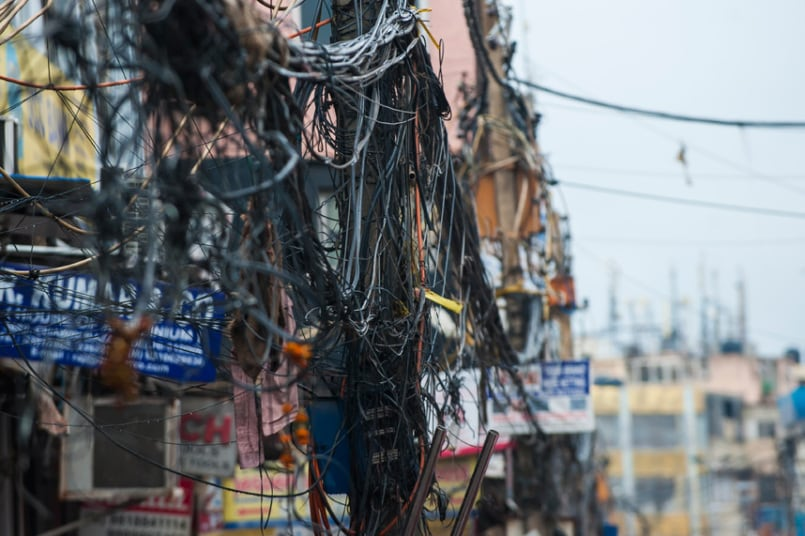 Domestic Electrical Wiring In India