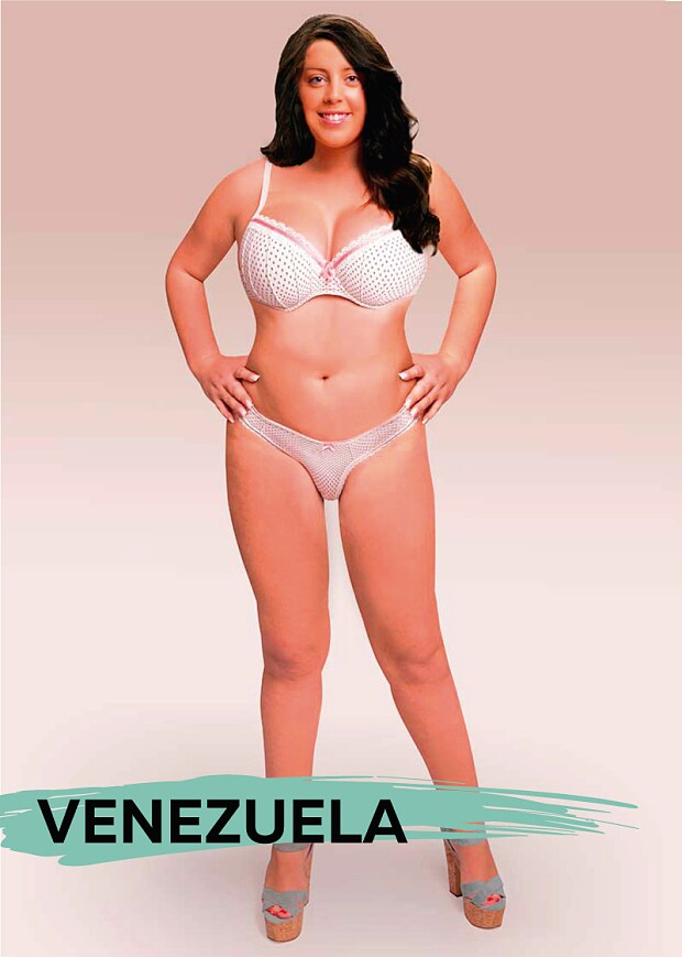 What does the 'ideal' woman look like across the globe ...