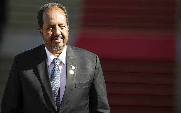 Image result for hassan sheikh mohamud safar