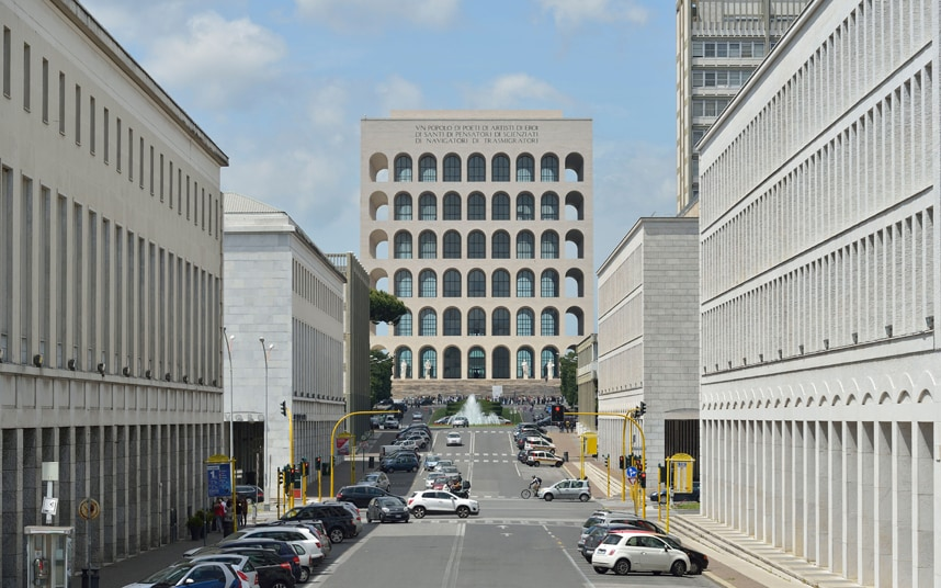 Fendi unveils restored Mussolini building as its