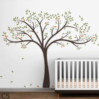 LittleLion Studio Trees Fall Wall Decal & Reviews | AllModern