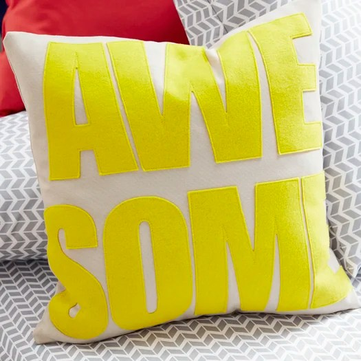 Alexandra Ferguson Awesome Throw Pillow  Reviews  AllModern