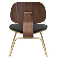 Design Tree Home Mid-Century Upholstered Lounge Chair ...