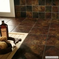 """Marazzi Imperial Slate 12"""" x 12"""" Ceramic Field Tile in"""