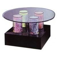 Midwest Tropical Fountain Aqua Dinette Table Fountain ...