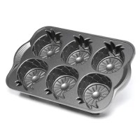 Nordic Ware Platinum Mini Pineapple Upside Down Pan ...