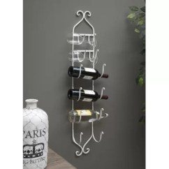 Rug Runners For Kitchen Rubbermaid Trash Can Imax 6 Bottle Wall Mounted Wine Rack & Reviews | Wayfair