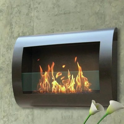 Anywhere Fireplaces Chelsea Wall Mount BioEthanol Fireplace  Reviews  Wayfair