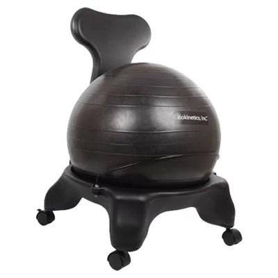 Isokinetics HighBack Exercise Ball Chair  Reviews  Wayfair