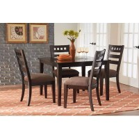 Standard Furniture Sparkle 5 Piece Dining Set & Reviews ...