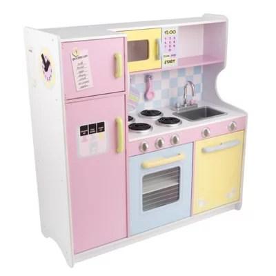kidkraft large pastel play kitchen KidKraft Pastel Kitchen & Reviews   Wayfair