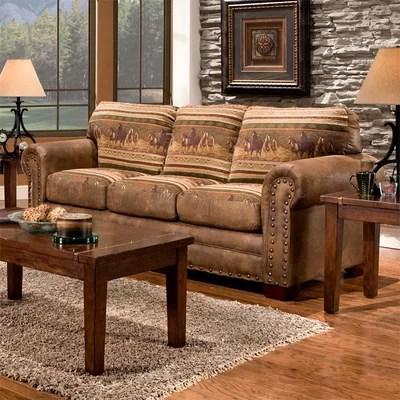 american furniture sofas living room American Furniture Classics Wild Horses Lodge Living Room Collection & Reviews | Wayfair