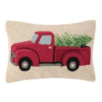 Birch Lane Pickup Truck Hooked Pillow & Reviews