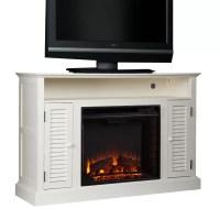 Burlington Media Console & Electric Fireplace & Reviews ...