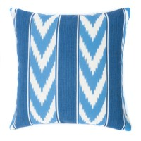 Jiti Ikat Stripe Outdoor Throw Pillow & Reviews | Wayfair