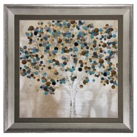 Propac Images 'A Teal Tree' Framed Graphic Art & Reviews ...