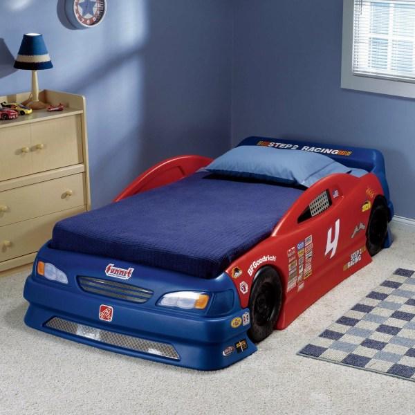 Step2 Children' Furniture Stock Twin Car Bed &
