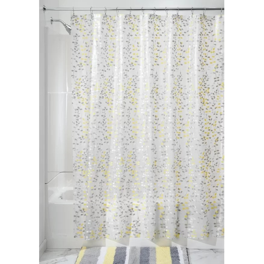 InterDesign Vine PEVA Shower Curtain  Reviews  Wayfair
