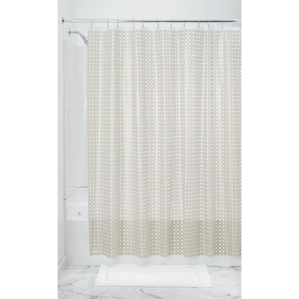 InterDesign Addie Shower Curtain Liner  Wayfair