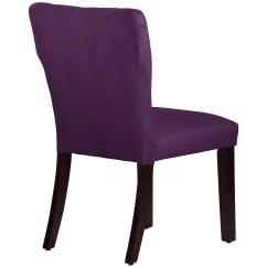 Velvet Tufted Chair Bedroom Fluffy Skyline Furniture Hourglass Side