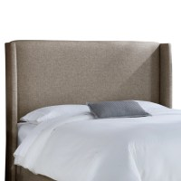 Skyline Furniture Wingback Upholstered Headboard & Reviews ...