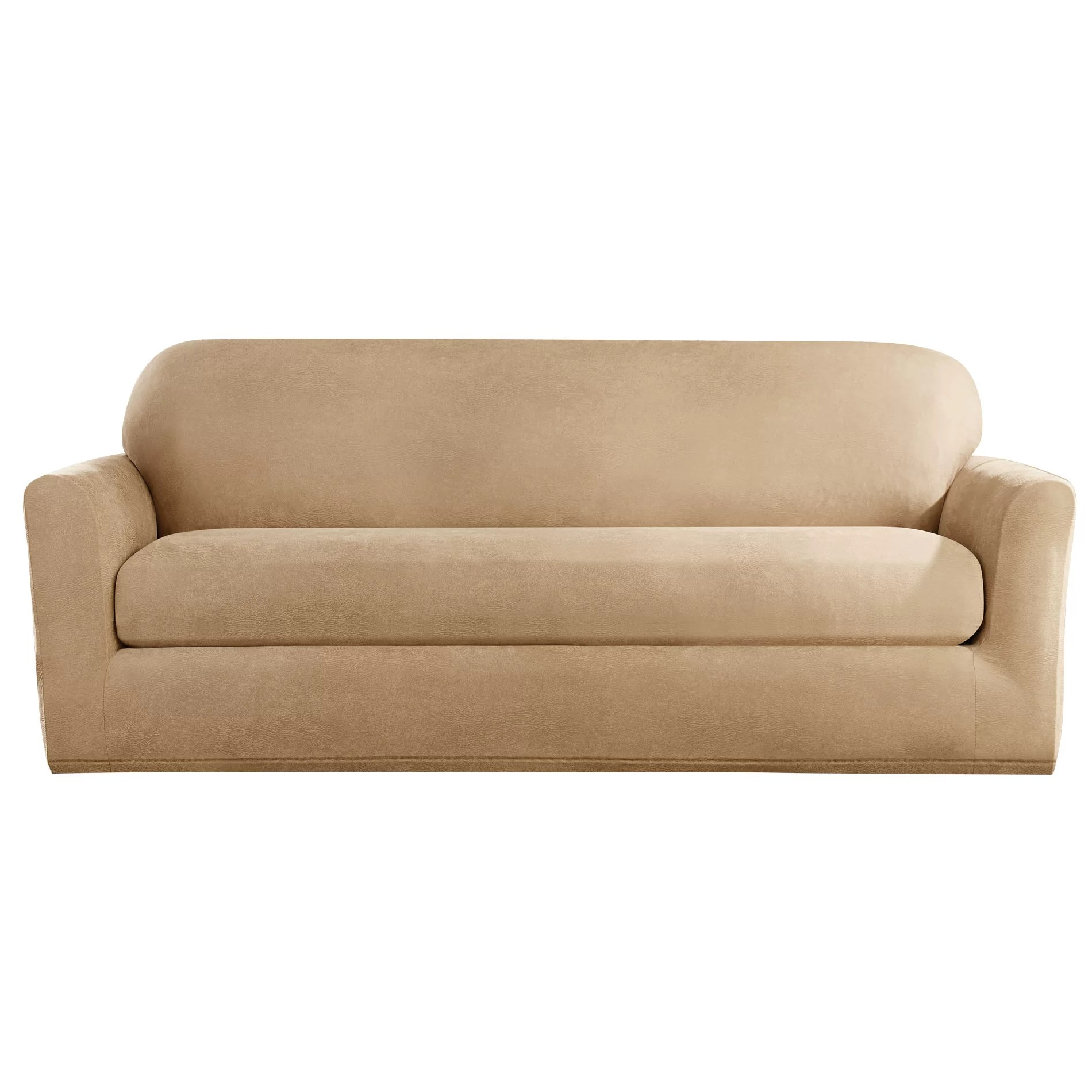 sofa covers for leather sectionals istikbal bed review sure fit stretch slipcover and reviews wayfair ca