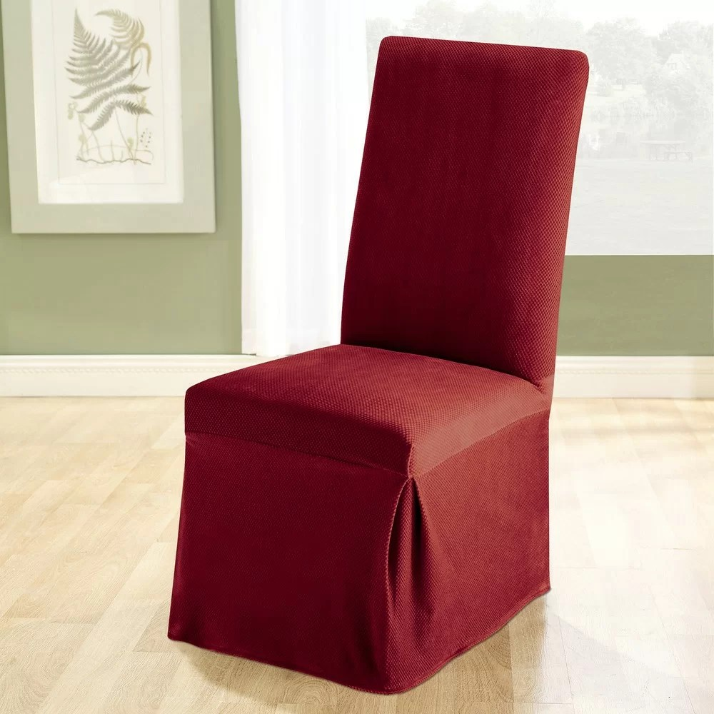 Sure Fit Stretch Pique Dining Chair Slipcover  Reviews