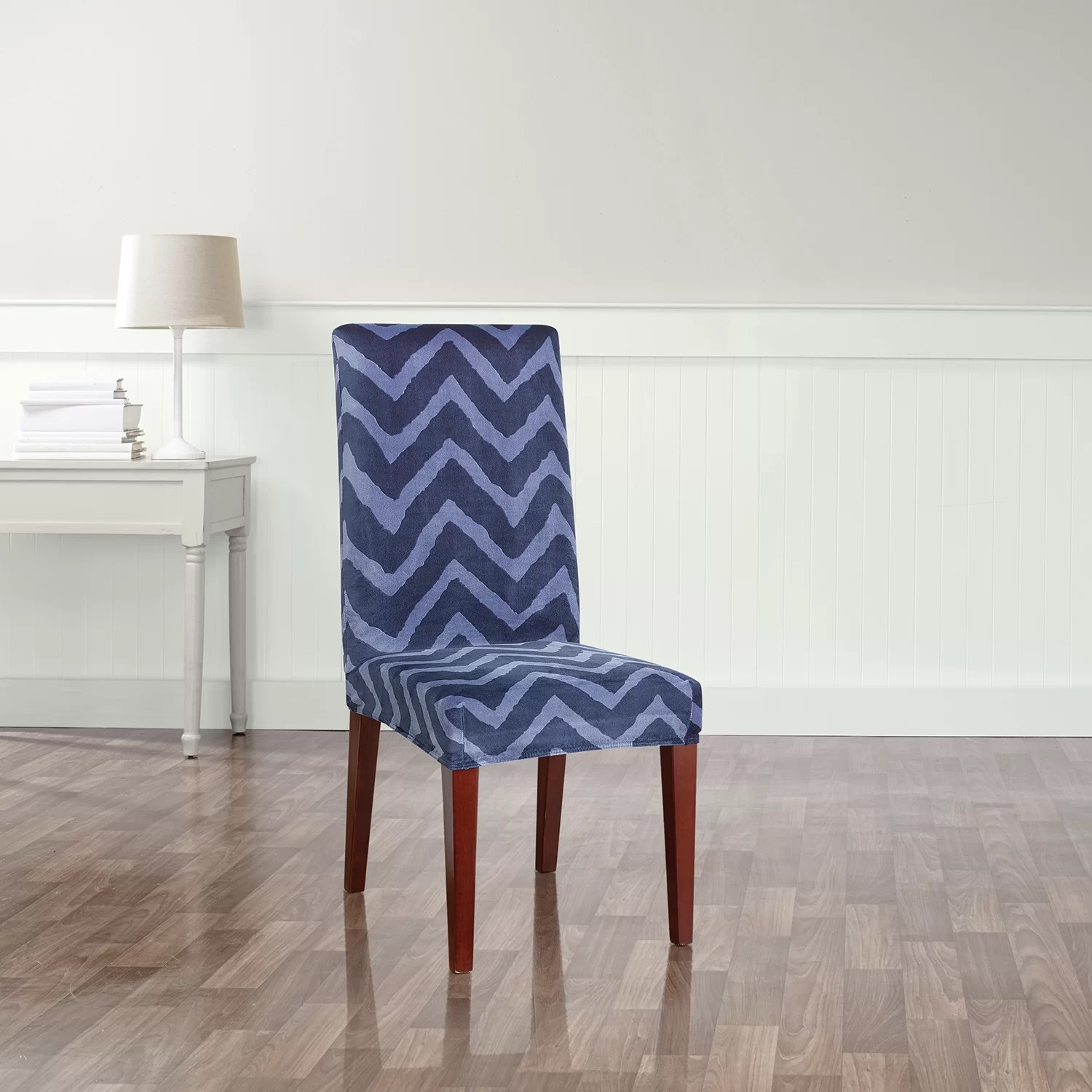 Sure Fit Stretch Chevron Dining Chair Slipcover  Reviews
