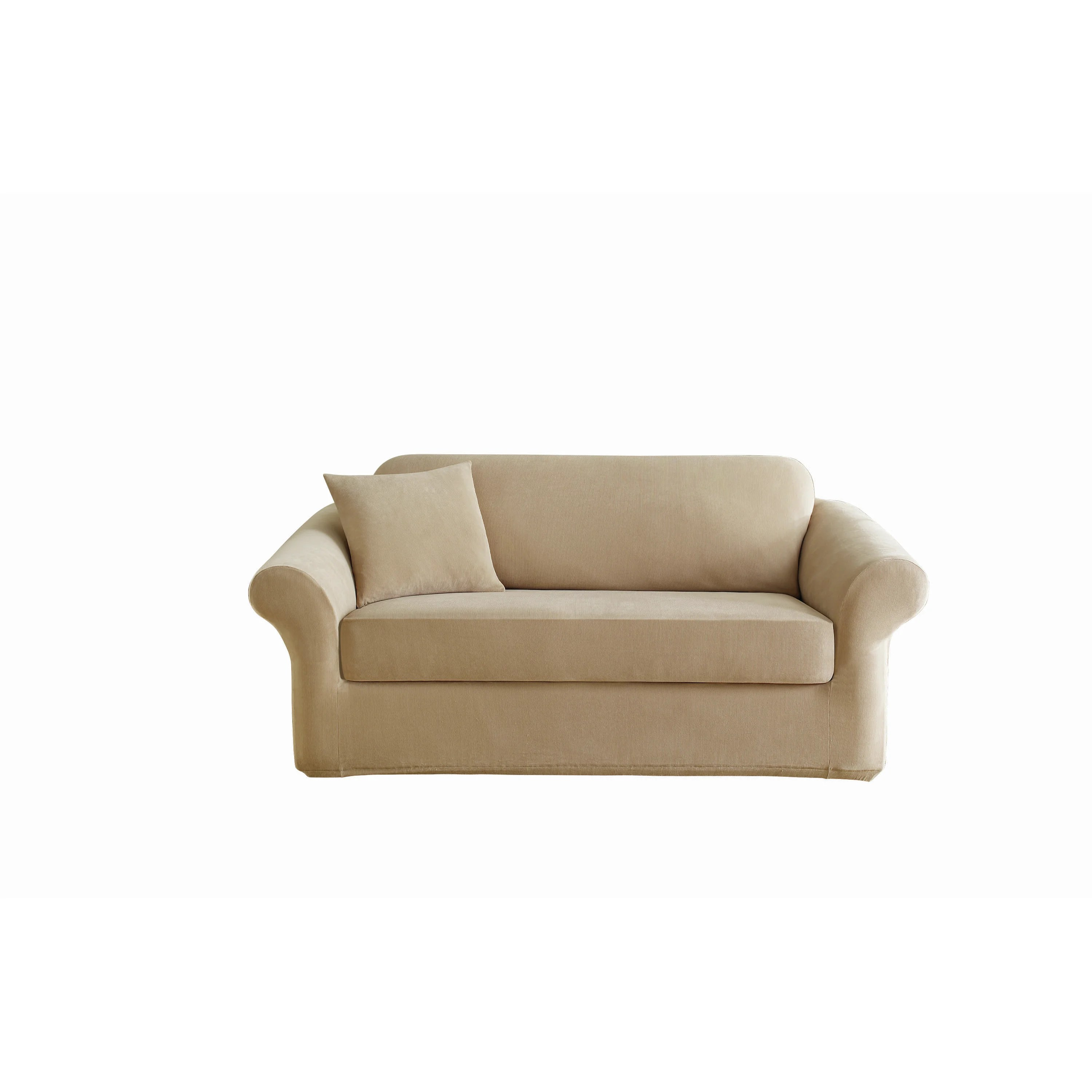 surefit pearson sofa cover nightclub sure fit stretch polyester loveseat slipcover
