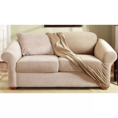 Sure Fit Durham One Piece Sofa Slipcover Extra Small Corner Loveseat Wayfair