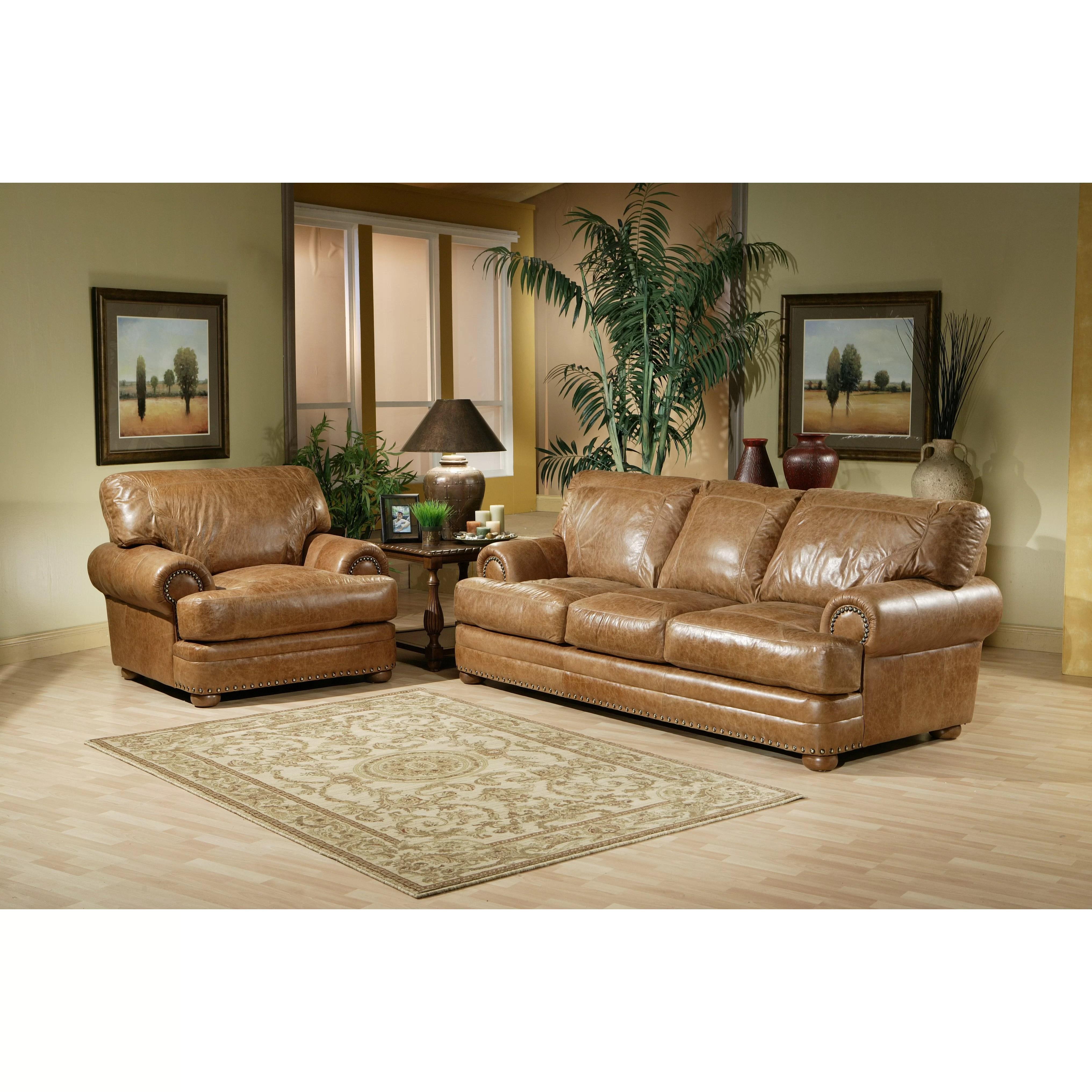 Omnia Leather Houston Leather Living Room Set  Reviews  Wayfair