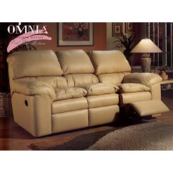 Omnia Leather Sofa Beds Simmons Bed Reviews Cordova Reclining And