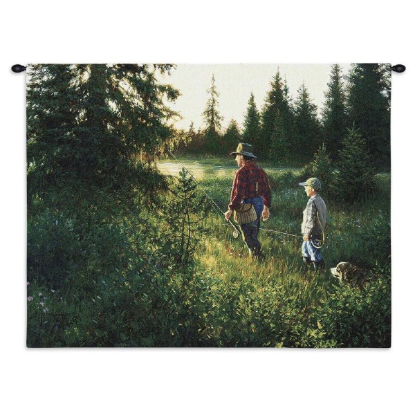 Gone Fishing Tapestry