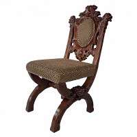 Design Toscano Sir Raleigh Medieval Side Chair | Wayfair