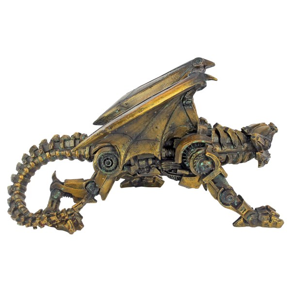Dragon Steampunk Gear Design