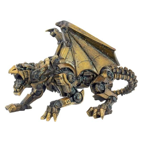 Design Toscano Steampunk Gothic Gear Dragon Statue