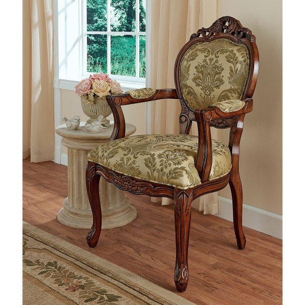 Design Toscano Chateau Theron Sitting Room Armchair