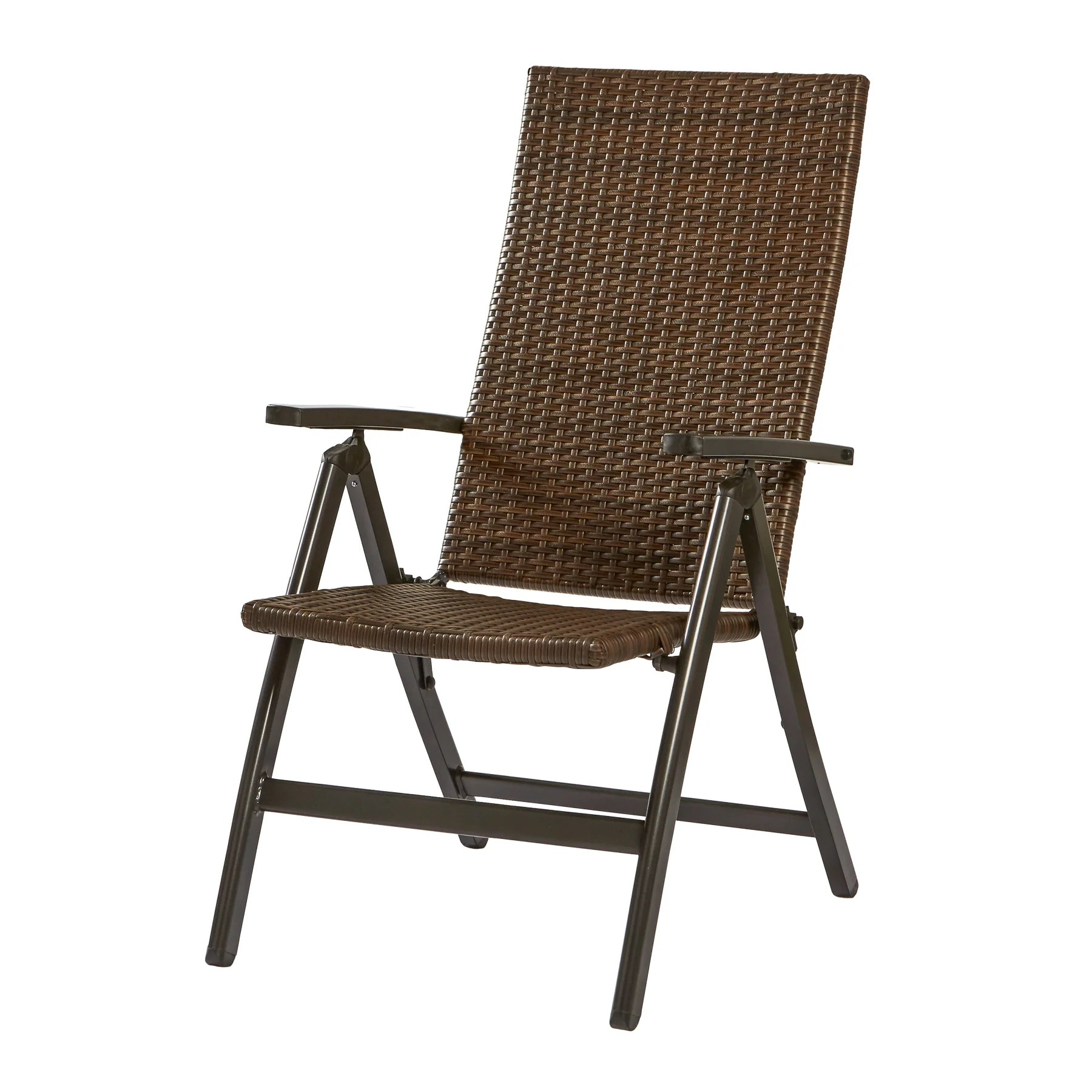 woven outdoor chair ergonomic on sale greendale home fashions wicker reclining zero