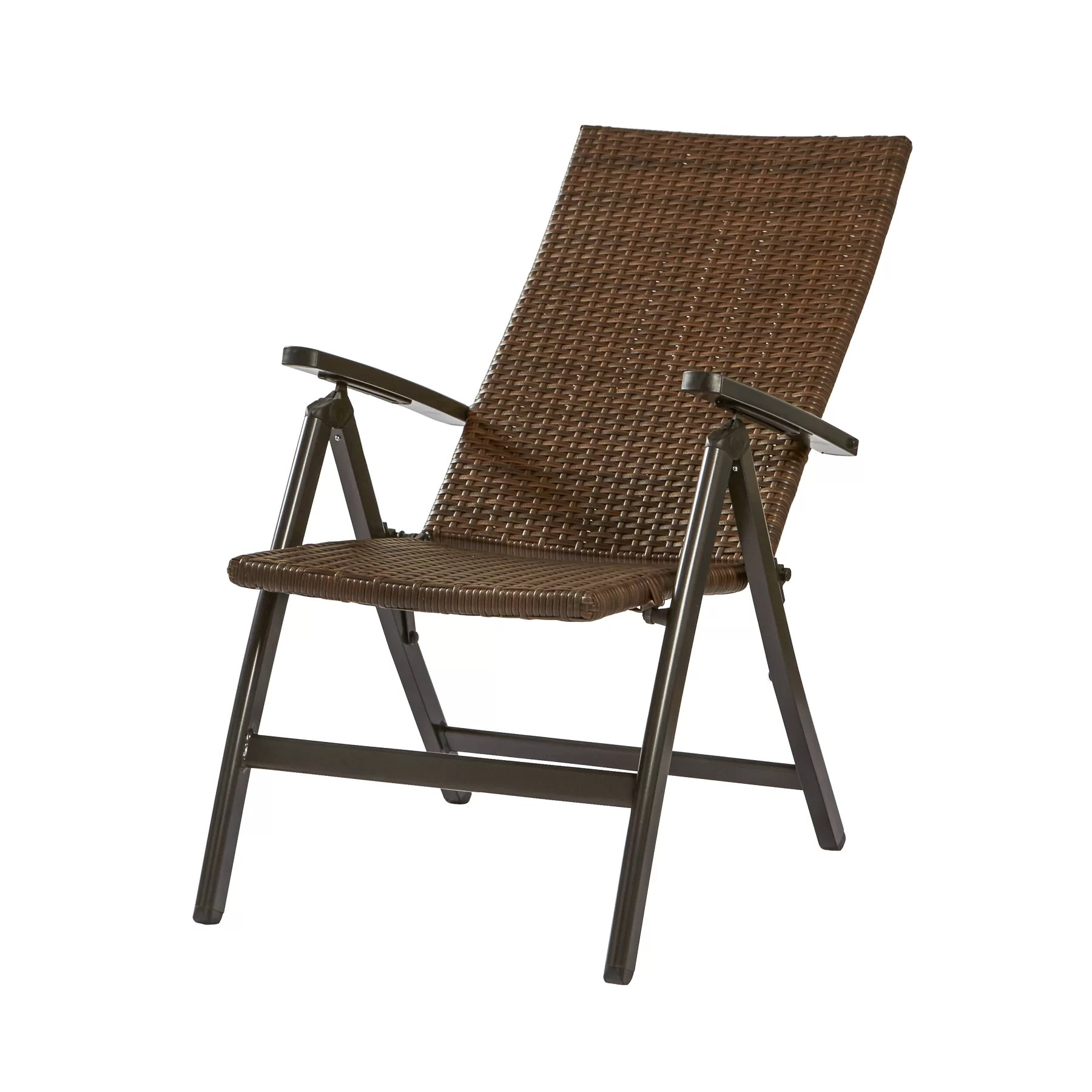 Outdoor Reclining Chair Greendale Home Fashions Wicker Outdoor Reclining Zero